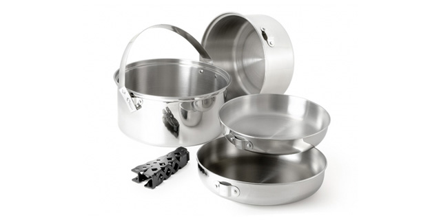 GSI Stainless Large Cookware Set