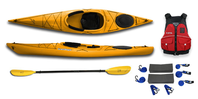 Current Designs Kestrel 120 Roto- Recreational Kayak
