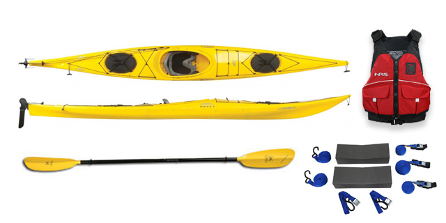 Necky Lookshaw 17 - Touring Kayak
