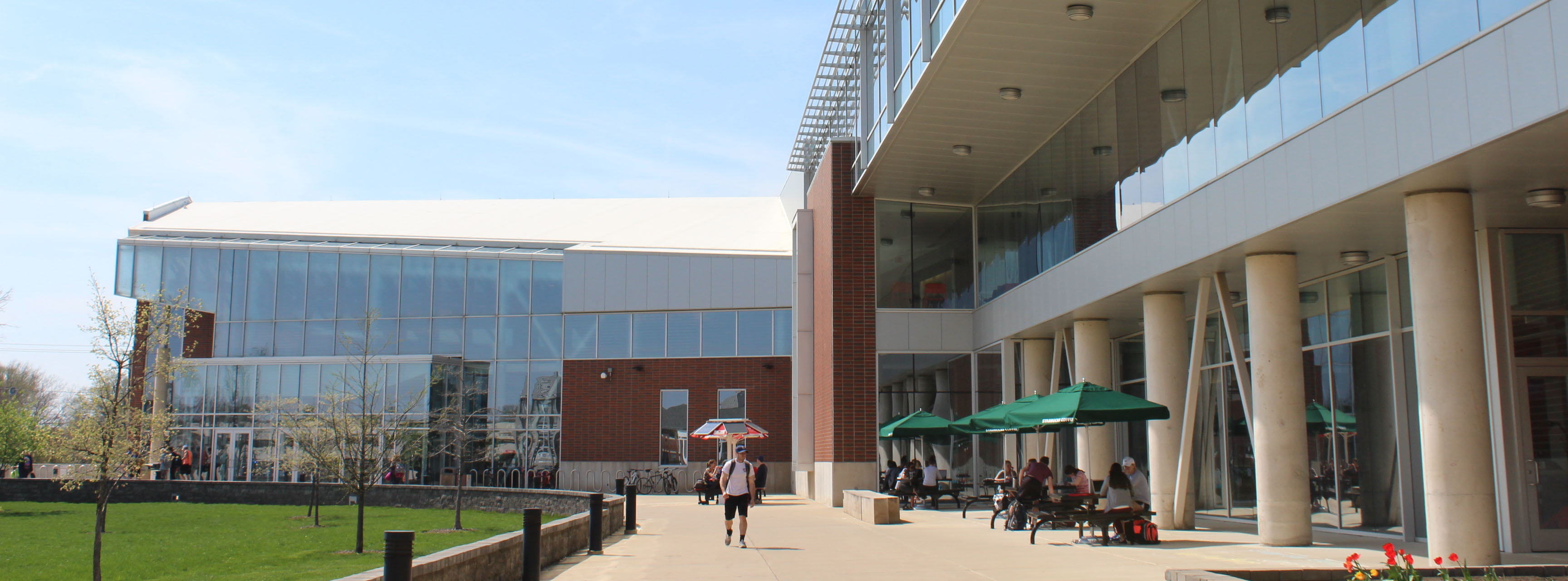 student fitness center exterior