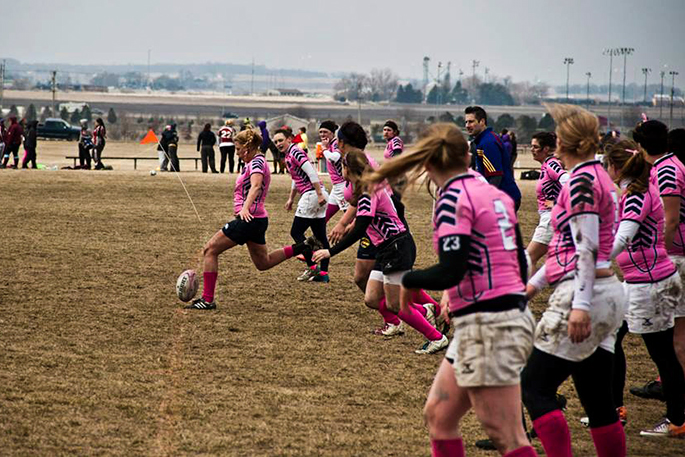 women's rugby team